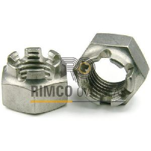 Stainless Steel Castle Nut