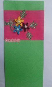Green Paper Envelope