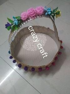 Handmade Jute Basket