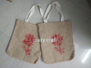 Jute Printed Bag