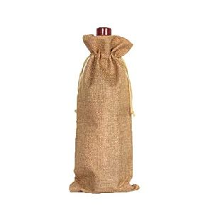 Wine Bottle Jute Bags