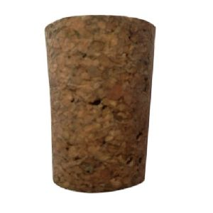 Agglomerated Tapered Cork Stopper