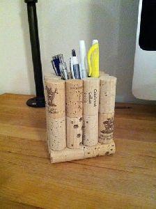 Cork Pen Stand