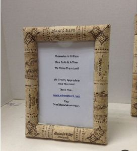 Wine Cork Photo Frame