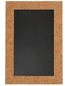 Cork Sheet Slate Frame