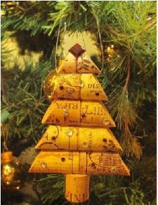 Wine Cork X- Mas Tree