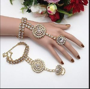 Fancy Ring Bracelet