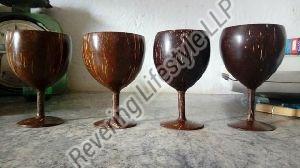 Coconut Shell Wine Glass