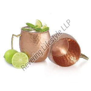 copper drinking cups