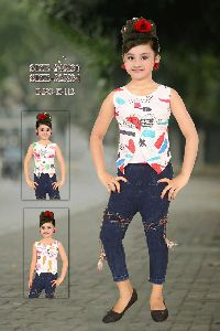 Girls Sleeveless Tops