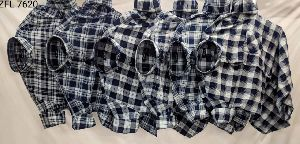 Mens Check Shirt (ZFL 7620)