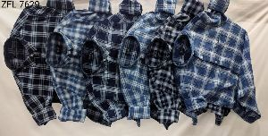 Mens Check Shirt (ZFL 7629)