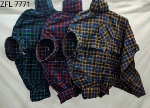 Mens Check Shirt (ZFL 7771)