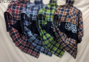 Mens Check Shirt (ZFL 7320)