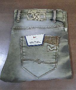 Mens Grey Jeans