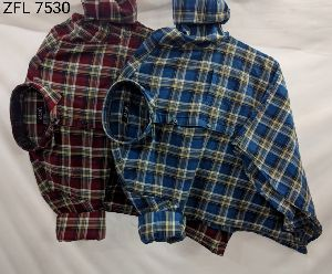 Mens Check Shirt (ZFL 7530)