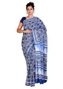 Kalamkari Printed Cotton Sarees