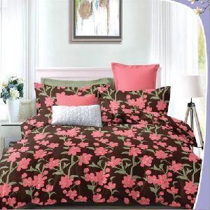 3D Floral Print Bedsheet