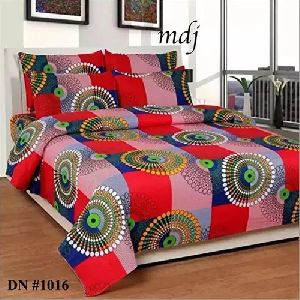 3D Poly Cotton Modern Bedsheet