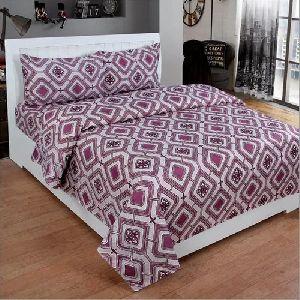 3D Poly Cotton Trendy Bedsheet