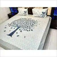 Jaipuri Embroidered Bedsheet