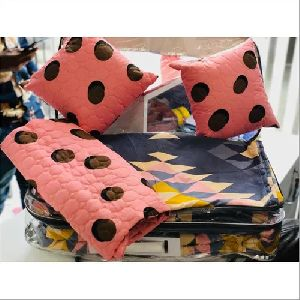 Printed Jacquard Cushion