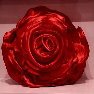 Rose Shaped Cushion