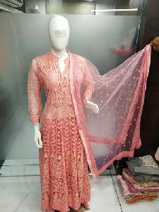 Lakhnavi Net Gown