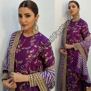Cotton Silk Designer Gown