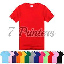 Color Polyester T-shirts