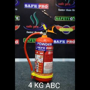 4 Kg ABC Type Fire Extinguisher