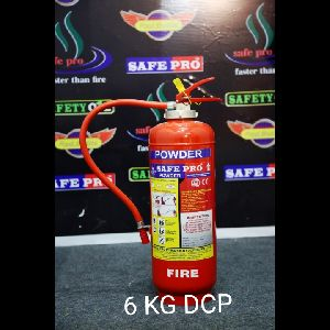 6 Kg DCP Type Fire Extinguisher