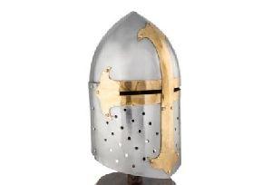 Medieval Crusader Knight Miniature Helmet