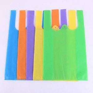 Multicolor W Cut Non Woven Bag
