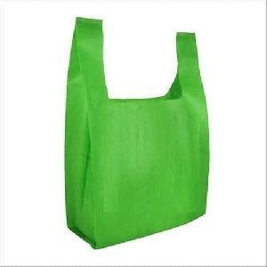 Striped D Cut Non Woven Bag
