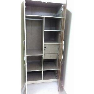7 Feet Lockable Wooden Wardrobe