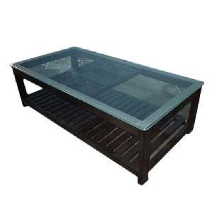 Wooden Rectangular Center Table