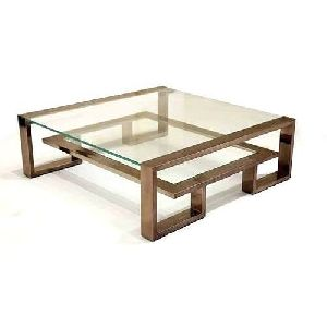 Wooden Square Center Table