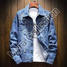Womens Plain Denim Jacket