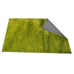 Green Shaggy Carpet