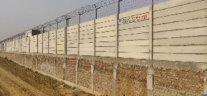 Industrial Area Boundary Wall