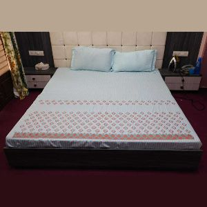 Printed King Size Bed Sheets