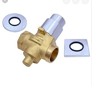 Push Button Concealed Flush Valve