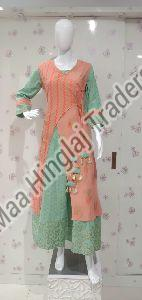 Inner Outer Double Layer Kurti