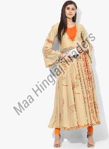 One Piece Anarkali Style Kurti