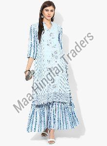 Printed Kurti Sharara Set