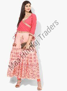Two Piece Kurti Inner with Jacket