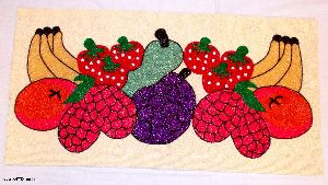 Beaded Table Runner