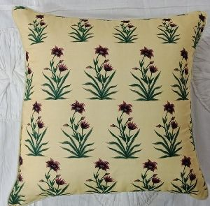 Cotton Satin Cushion Cover