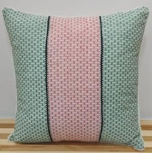 Cotton Yarn Dyed Cushion Cover